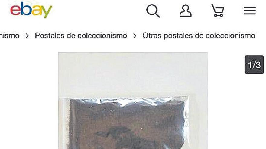 A la venta bolsas de 50 gramos de cenizas del  volcán de La Palma por 20 euros