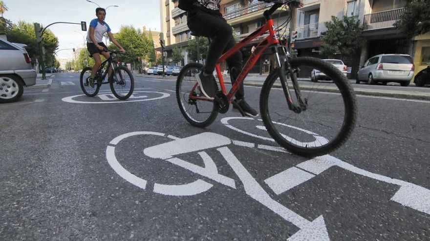 IU exige al alcalde que ponga en marcha un plan para favorecer el uso de la bicicleta en Córdoba