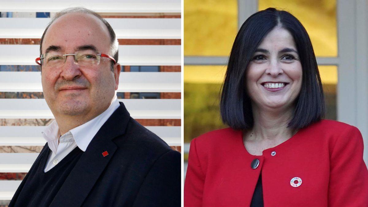 Sánchez nombra a Iceta ministro de Política Territorial y traslada a Darias a Sanidad
