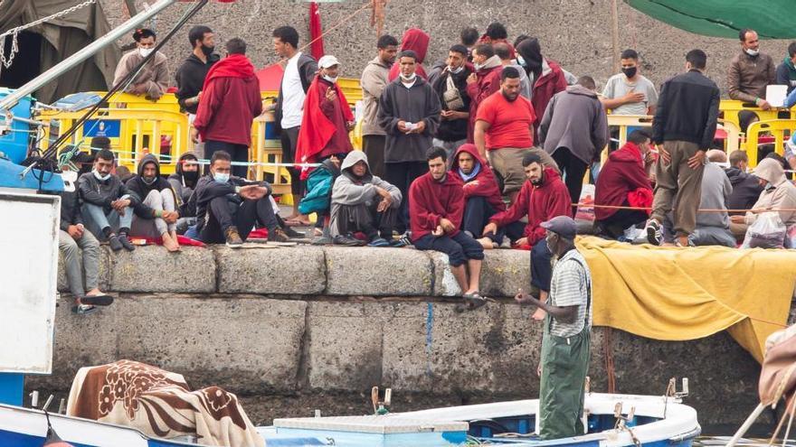 La migración satura Canarias