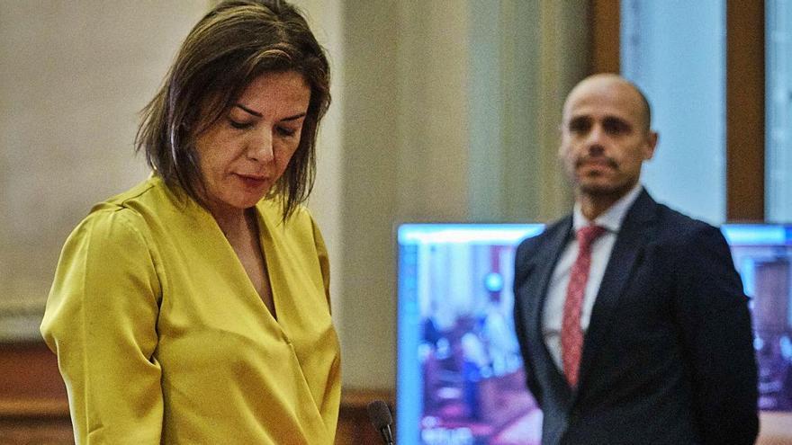 Evelyn Alonso toma posesión como concejal de Santa Cruz de Tenerife por Ciudadanos el 26 de junio de 2020.