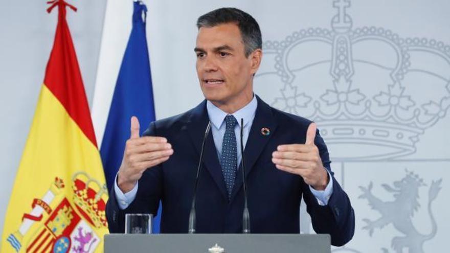 Sanchez anuncia que el Plan de Recuperación movilizará 72.000 millones hasta 2023