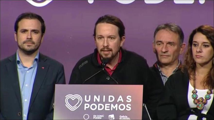 Iglesias:«Es dorm pitjor amb més de 50 diputats de VOX que amb ministres d'Unides Podem»
