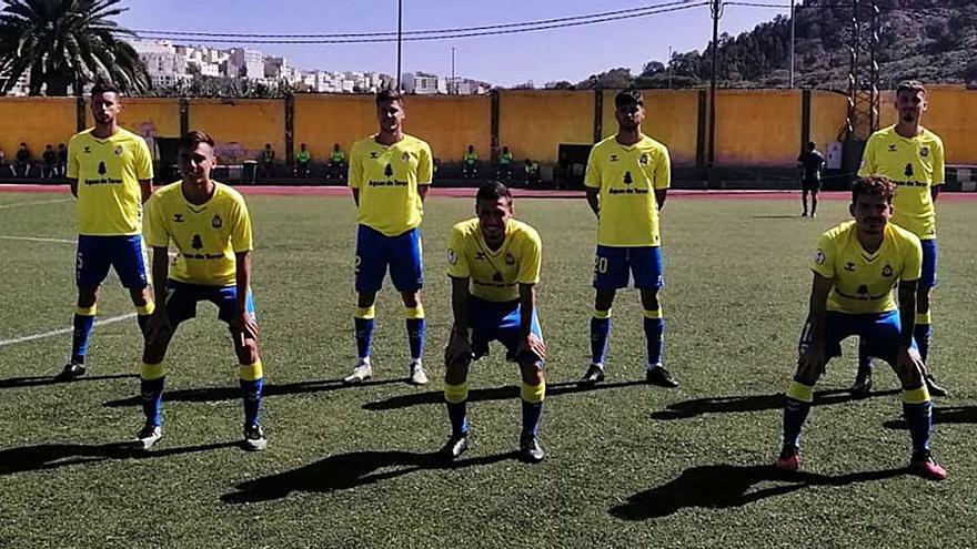 Las Palmas C suma sus primeros puntos del curso
