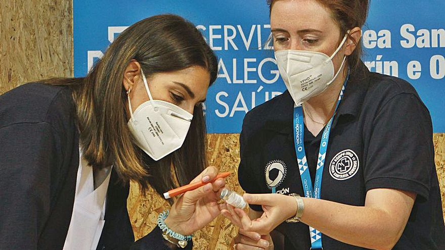 La vacunación se acelera en Ourense con más de 800 dosis sin cita previa