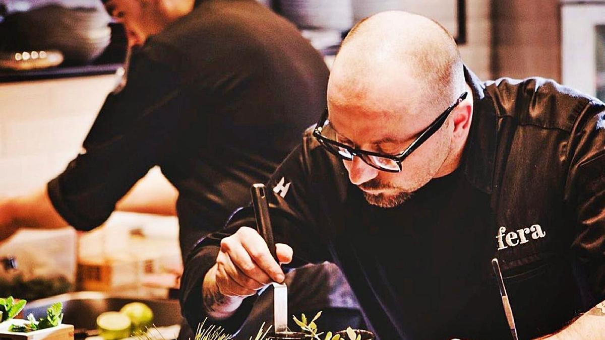 El chef Simon Petutschnig.