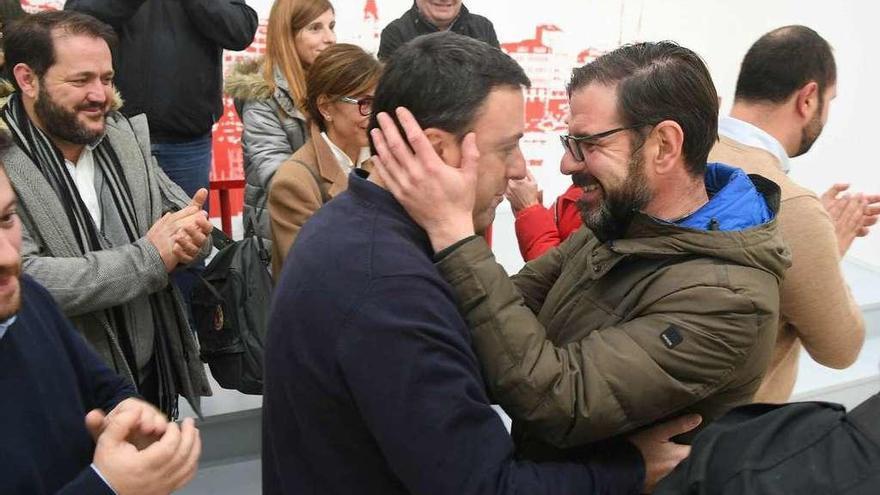 Formoso se impone como nuevo líder del PSOE coruñés