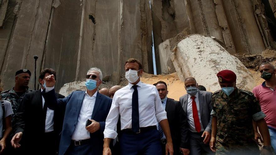 La ayuda internacional se concreta para el Líbano
