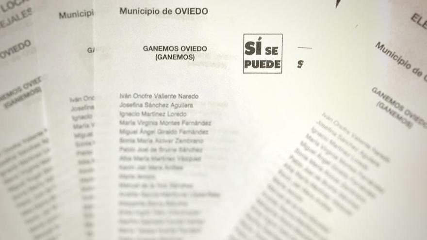 La Fiscalía investiga el fraude de la candidatura Ganemos Oviedo