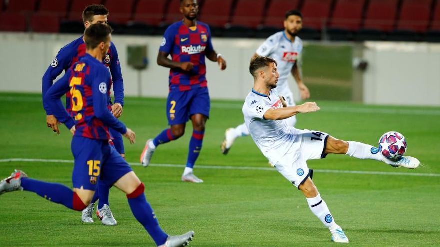 El Barça treu el bitllet que porta a Lisboa (3-1)