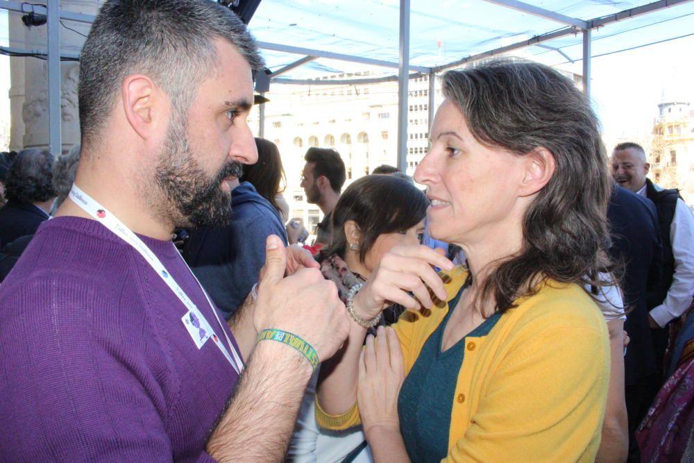 Pere Fuset y María Oliver