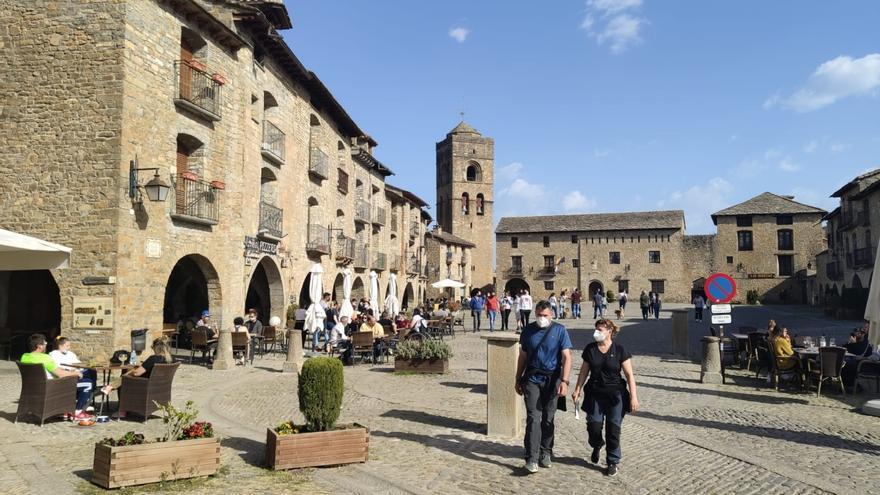 La ocupación media hotelera en el Pirineo, en el puente del Pilar, ronda el 80%, con zonas que rozan el 100%