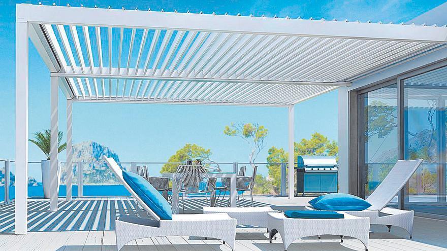 Doha Sun, la pérgola bioclimática de Aluminios Galisur