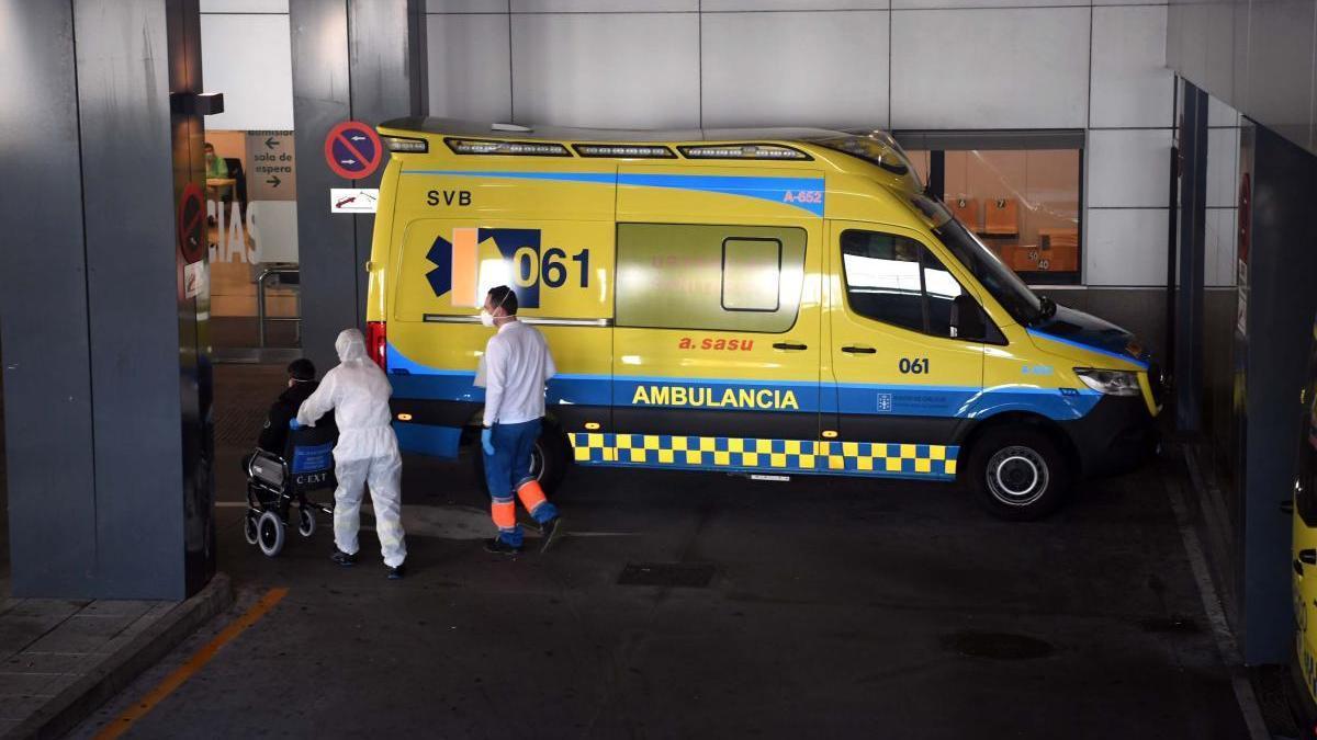 Urgencias del hospital de A Coruña. // Víctor Echave
