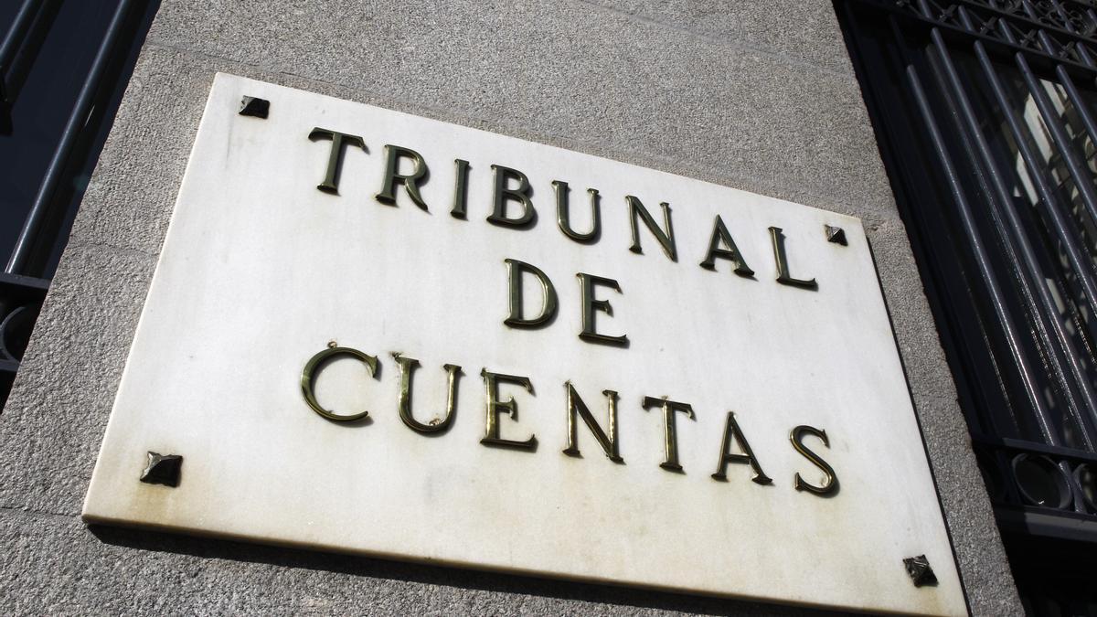 Fachada del Tribunal de Cuentas, en una imagen de archivo.