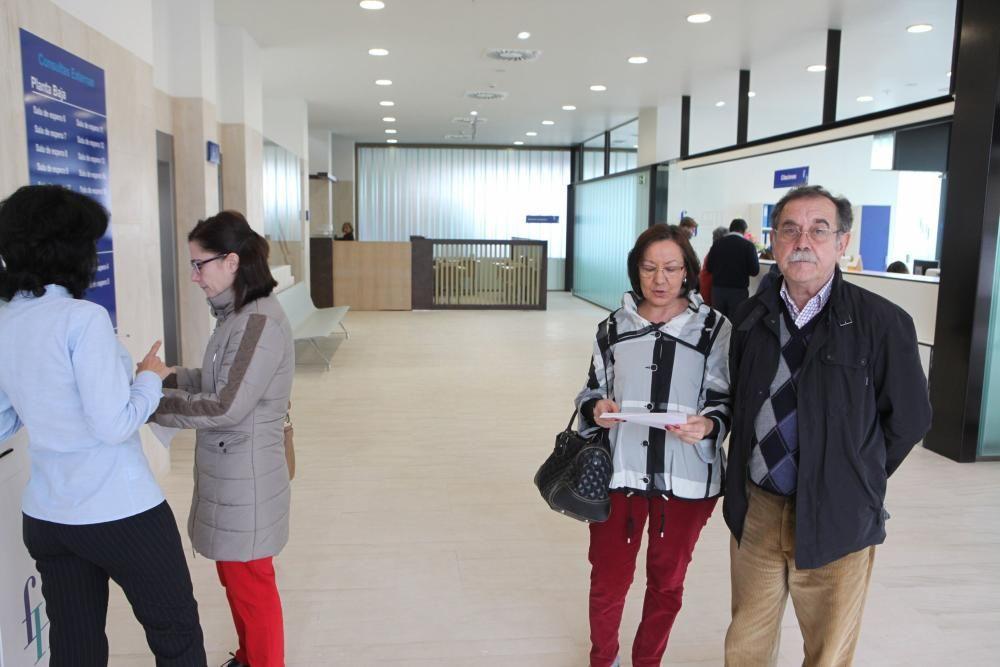 El nuevo edificio del hospital de Jove abre sus puertas