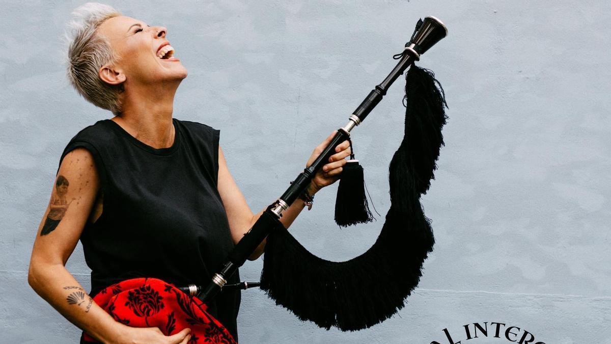 Susana Seivane, en la foto difundida por el Festival Intercéltico do Morrazo.