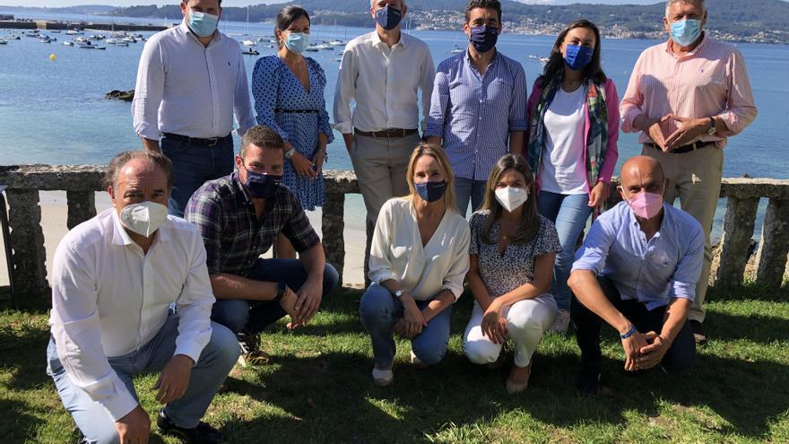 Rueda reforzará el PP de Pontevedra con ocho vicesecretarios