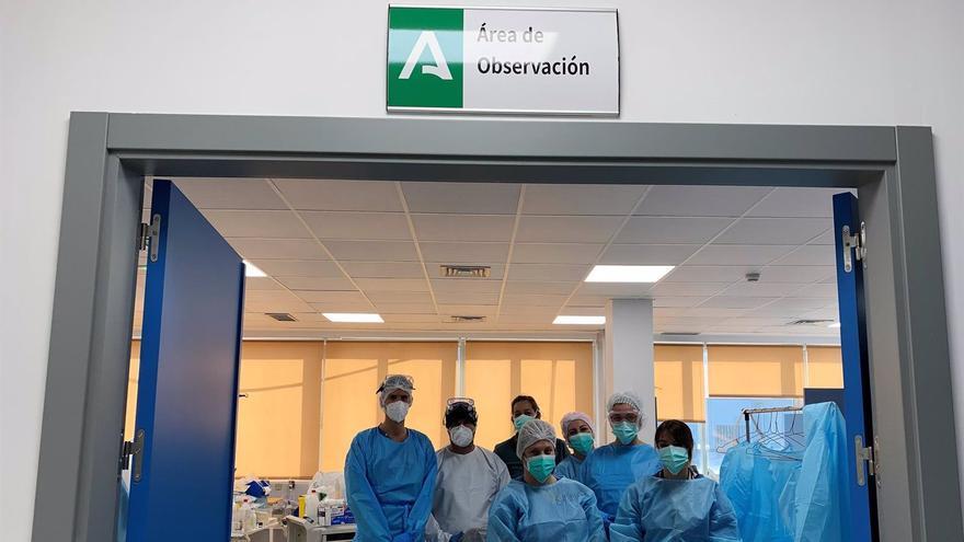El Servicio de Urgencias del Hospital Virgen de la Victoria pone en funcionamiento el nuevo circuito para pacientes respiratorios