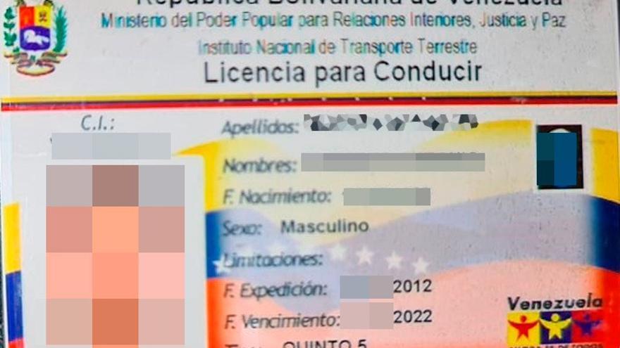 Conduce borracho, con un carné venezolano falso y sin respetar el toque de queda en Lomo los Frailes