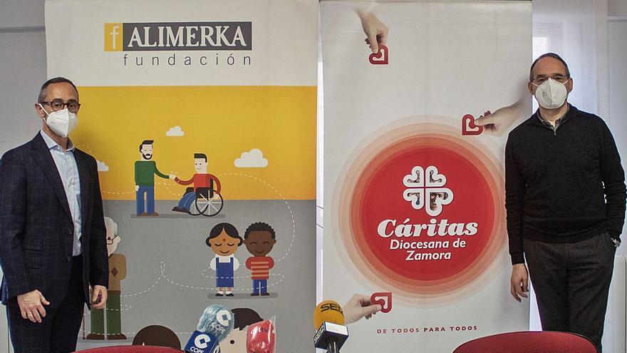La atención en el comedor social de Cáritas en Zamora se incrementa un 40% en un año