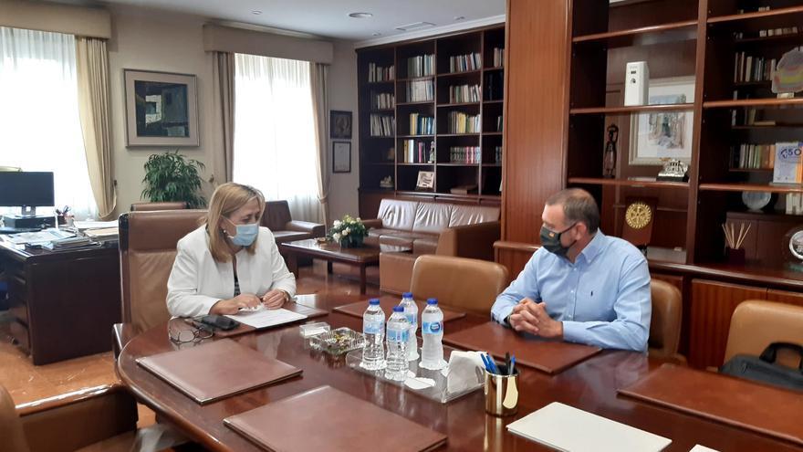 La AEGC expone a la subdelegada del Gobierno las carencias de la Guardia Civil en Alicante
