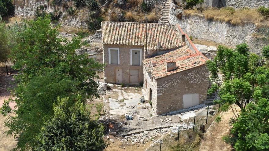 La Vila restaura las estructuras antiguas del Molí Real de la Llobeta