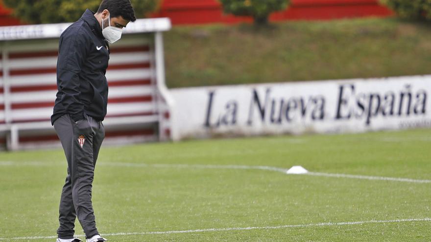 """Gallego: """"El objetivo son los tres puntos, jamás renunciamos a ganar"""""""