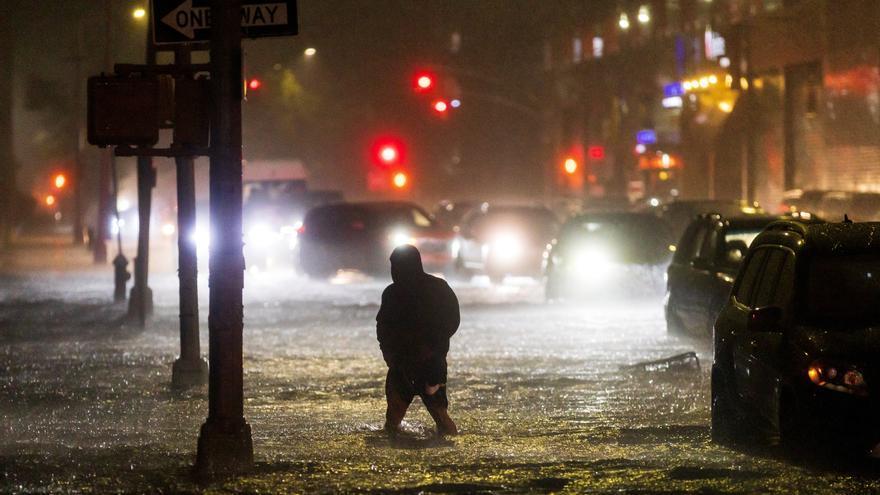 Al menos 42 muertos en Nueva York y Nueva Jersey a causa de las fuertes lluvias provocadas por 'Ida'