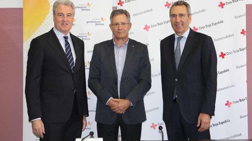 Gas Natural Fenosa y Cruz Roja Española colaboran en la lucha contra la pobreza energética