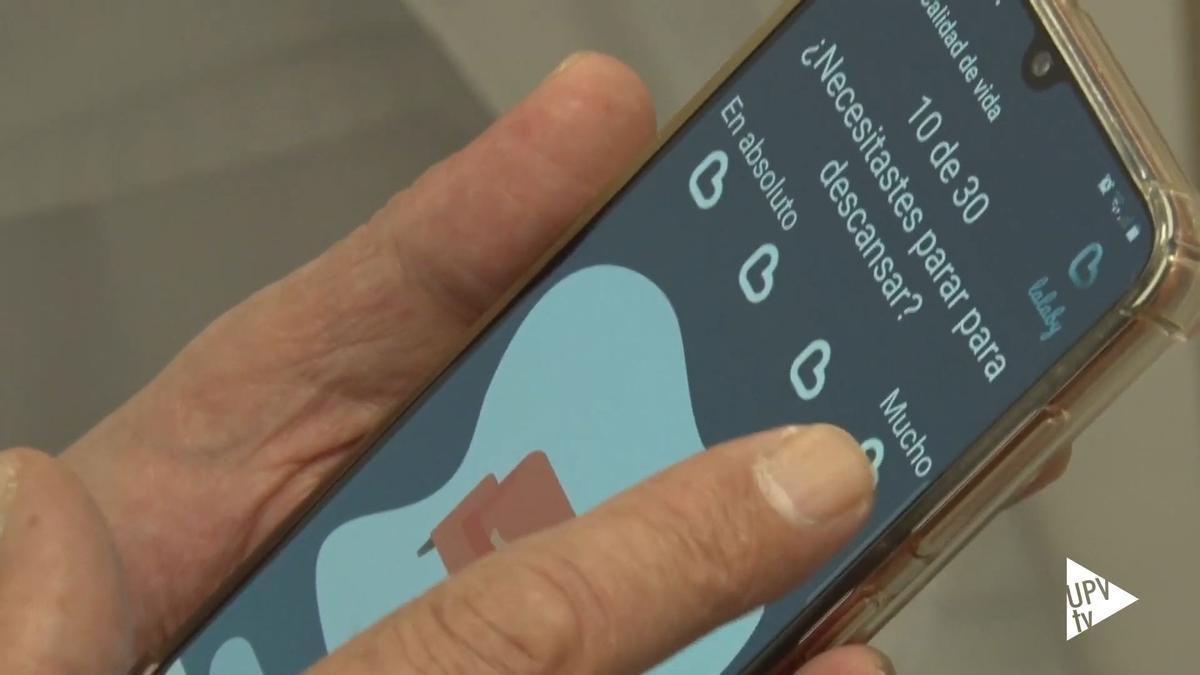 Crean en València una aplicación que monitoriza la calidad de vida de pacientes con cáncer