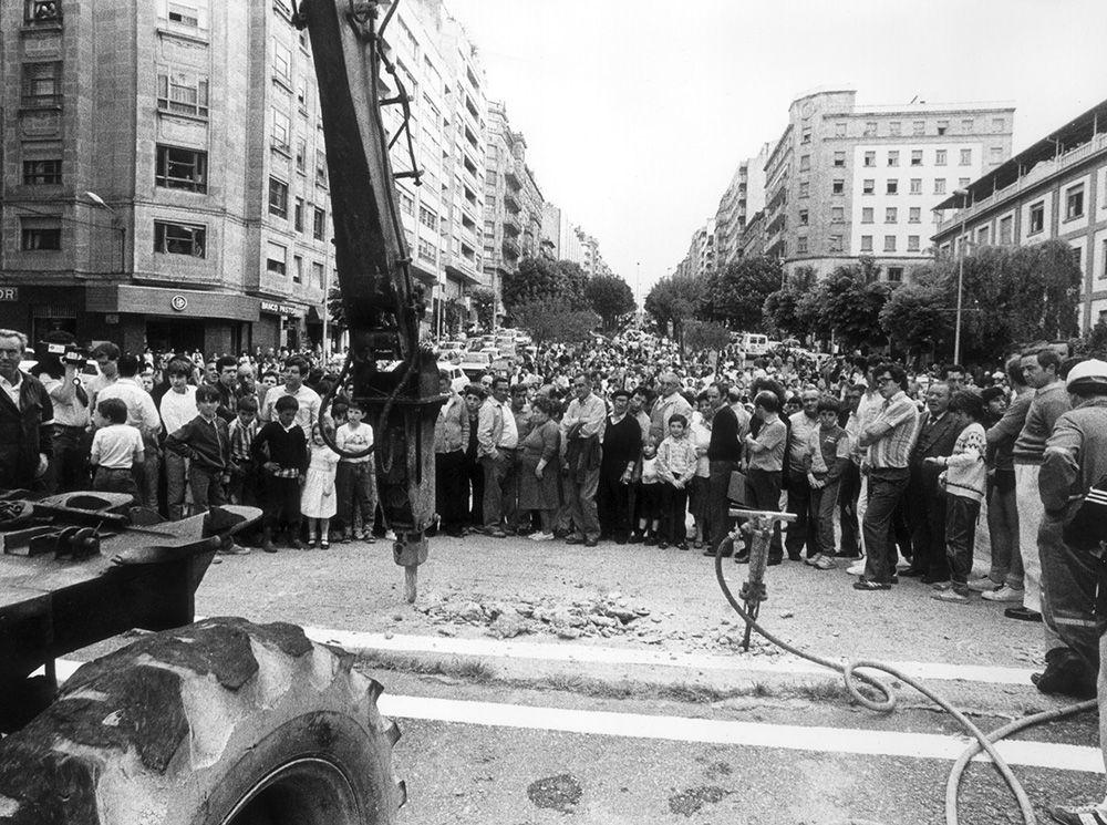 """El """"scalextric"""" de Vigo: historia de un despropósito"""