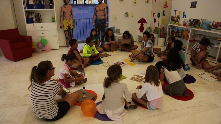 Un programa de retos artísticos para el aula de verano del MACA