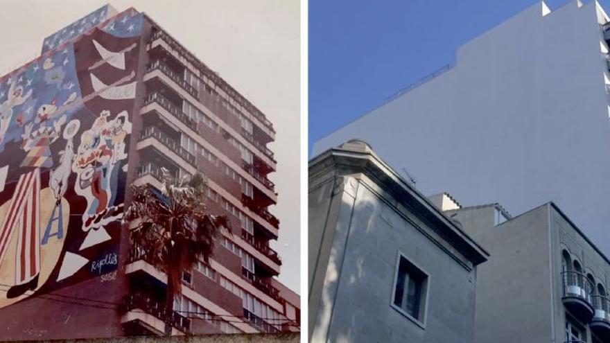 Cultura niega toda responsabilidad en la desaparición del mural de Ripollés