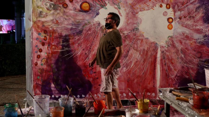 La pintura i la música es fusionen a la 'Nit de la sanitat' de Peralada de la mà de Santi Moix i la Simfònica del Liceu