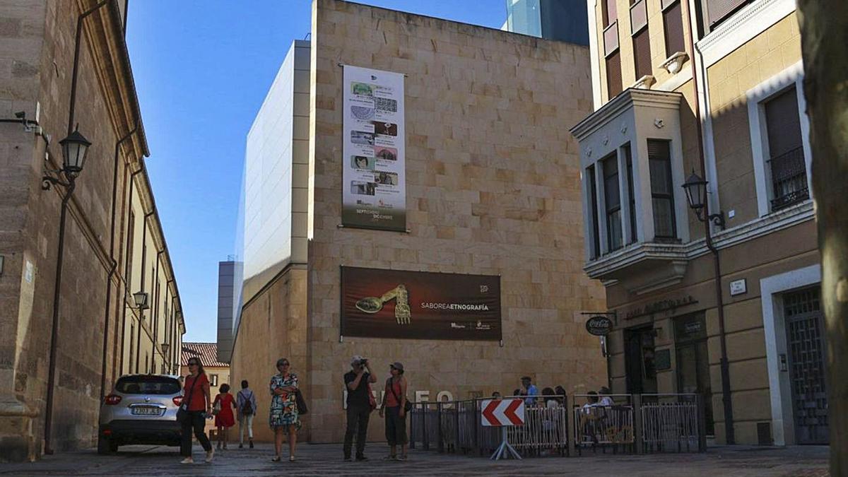 Sede del Museo Etnográfico de Castilla y León, ubicado en Zamora, en una foto de archivo.