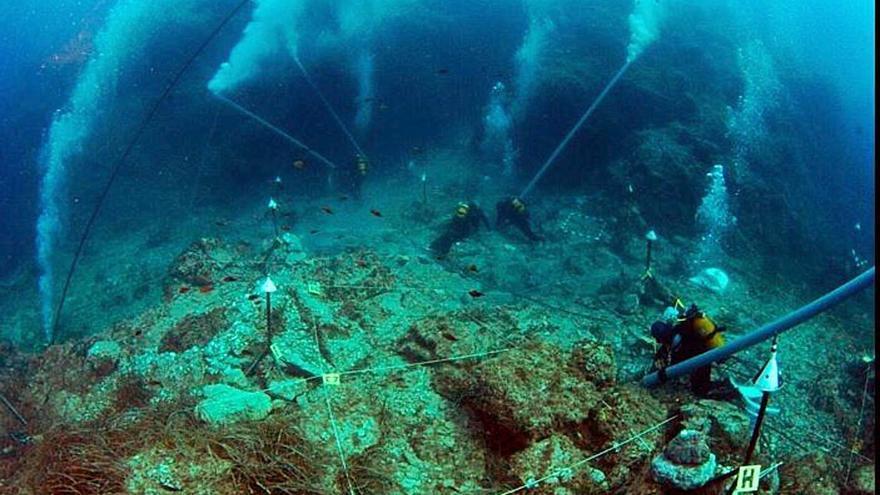 Idean una ruta submarina para ver el pecio hundido en La Manga