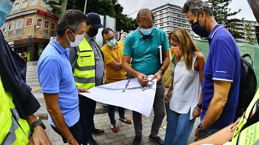 El Ayuntamiento culminará en otoño la transformación de Mesa y López