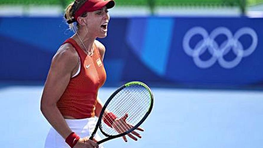 Paula Badosa avança en dobles i avui es juga el futur individual