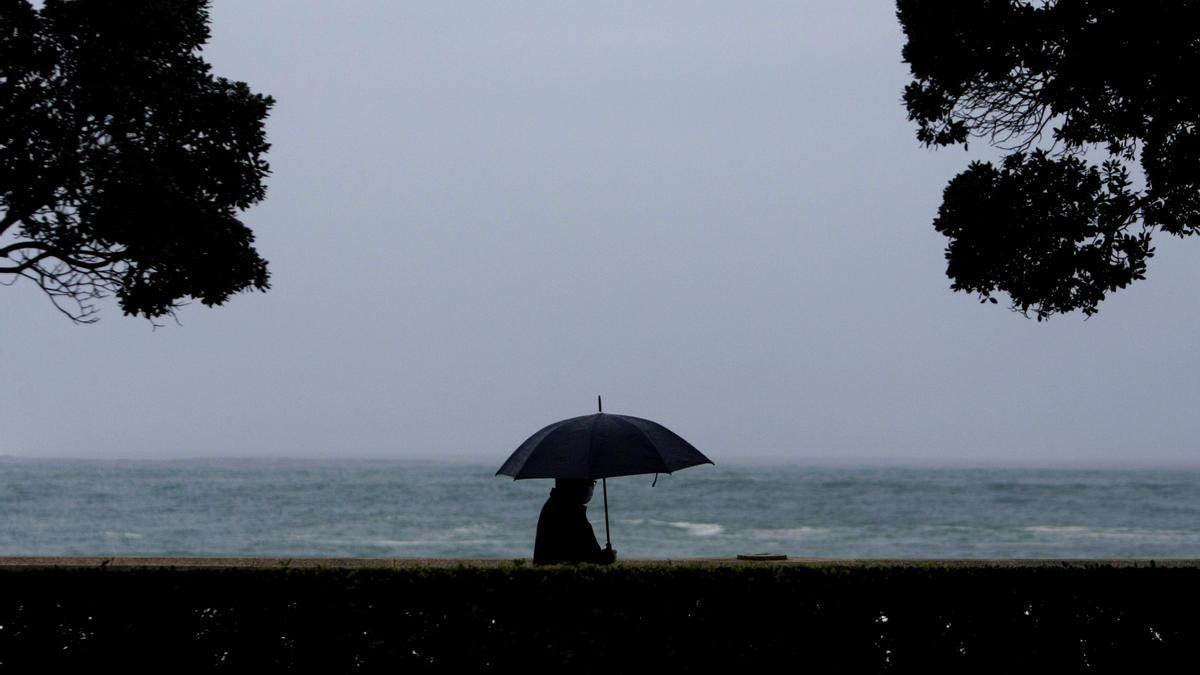 Alerta naranja en la costa de A Coruña.