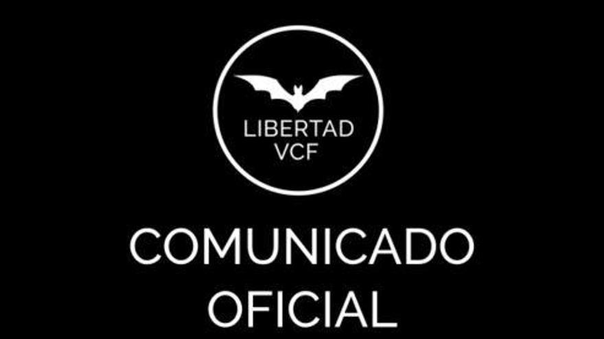 Comunicado de Libertad VCF