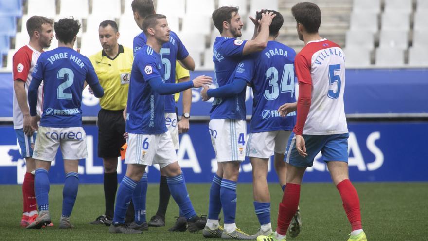 """Los capitanes del Sporting B y del Vetusta, ante el miniderbi: """"Ganar al eterno rival es un refuerzo moral"""""""