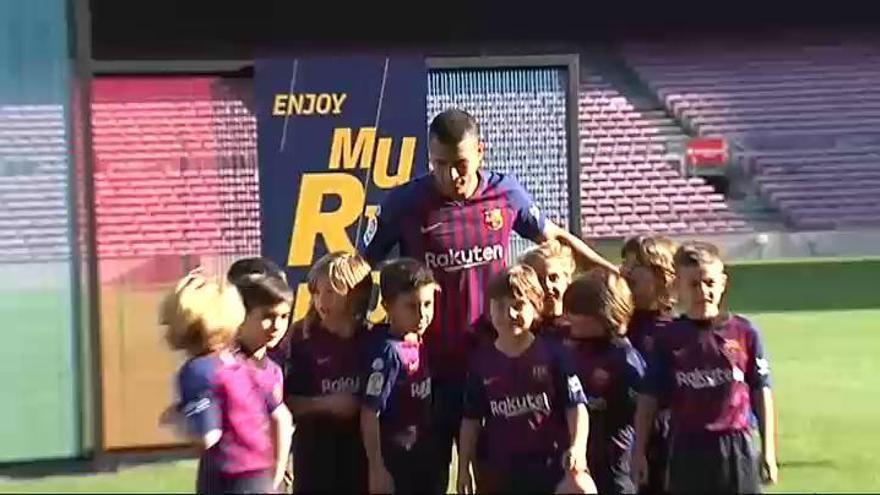 """Murillo: """"Espero que mi tiempo en el Barcelona sea largo"""""""