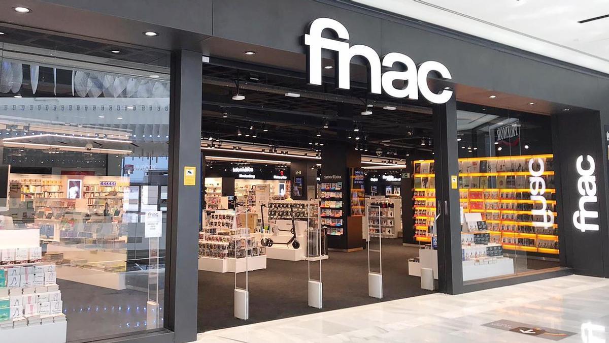 Una tienda de FNAC.
