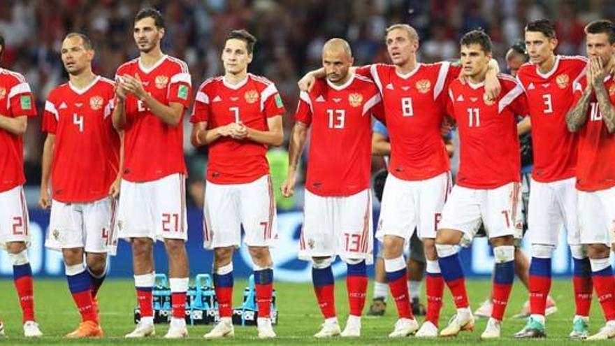 Rusia admite que sus jugadores usaron amoníaco contra España y Croacia