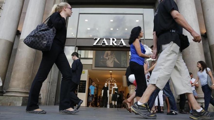 Inditex ganó 1.366 millones en su primer semestre fiscal, el 9% más