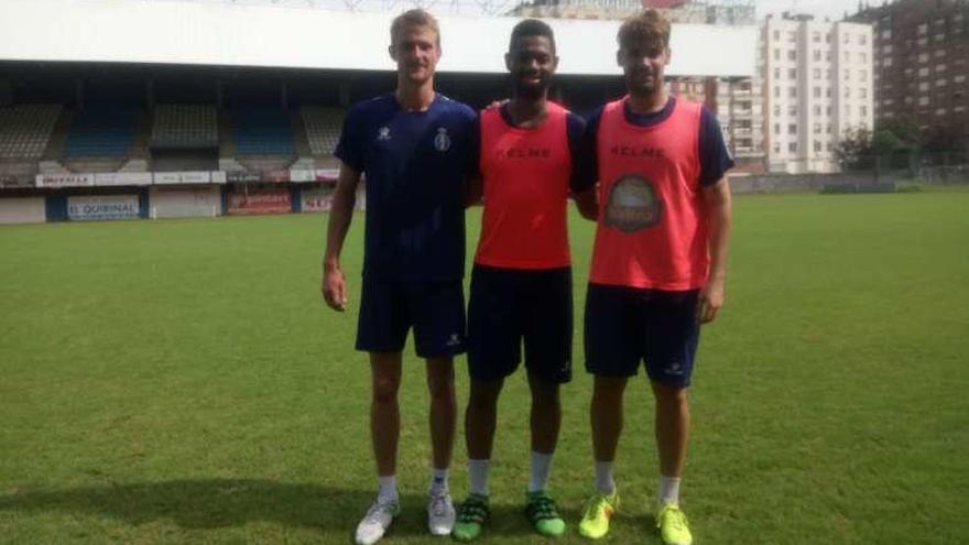 Llegó Adama Touré y el club prueba al galo Thomas