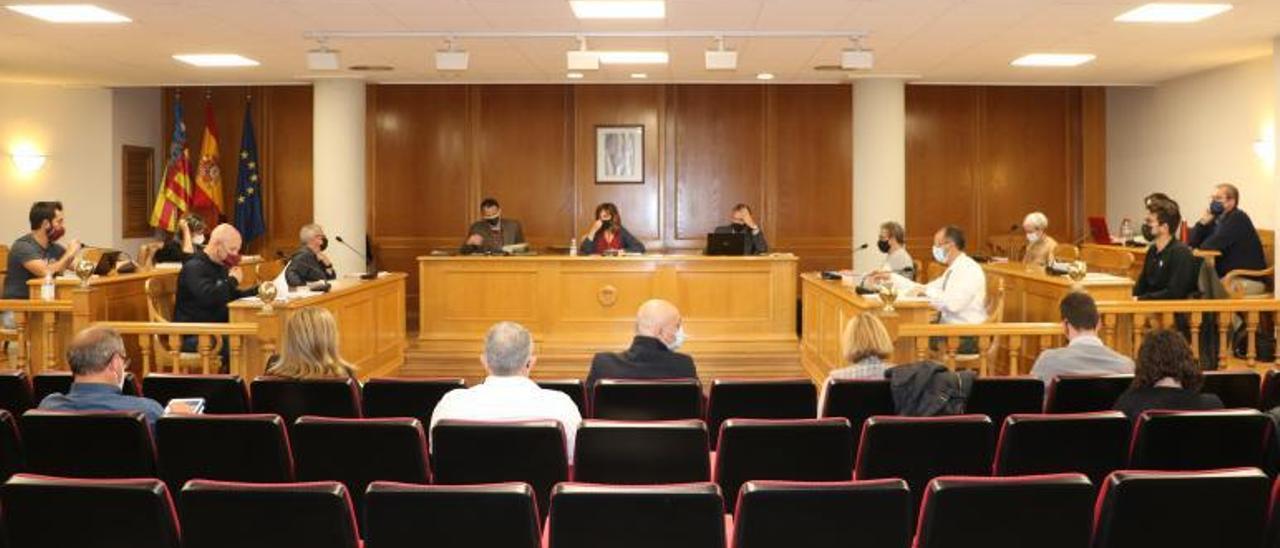 Pleno de Quart de Poblet celebrado el pasado martes. | A.Q.
