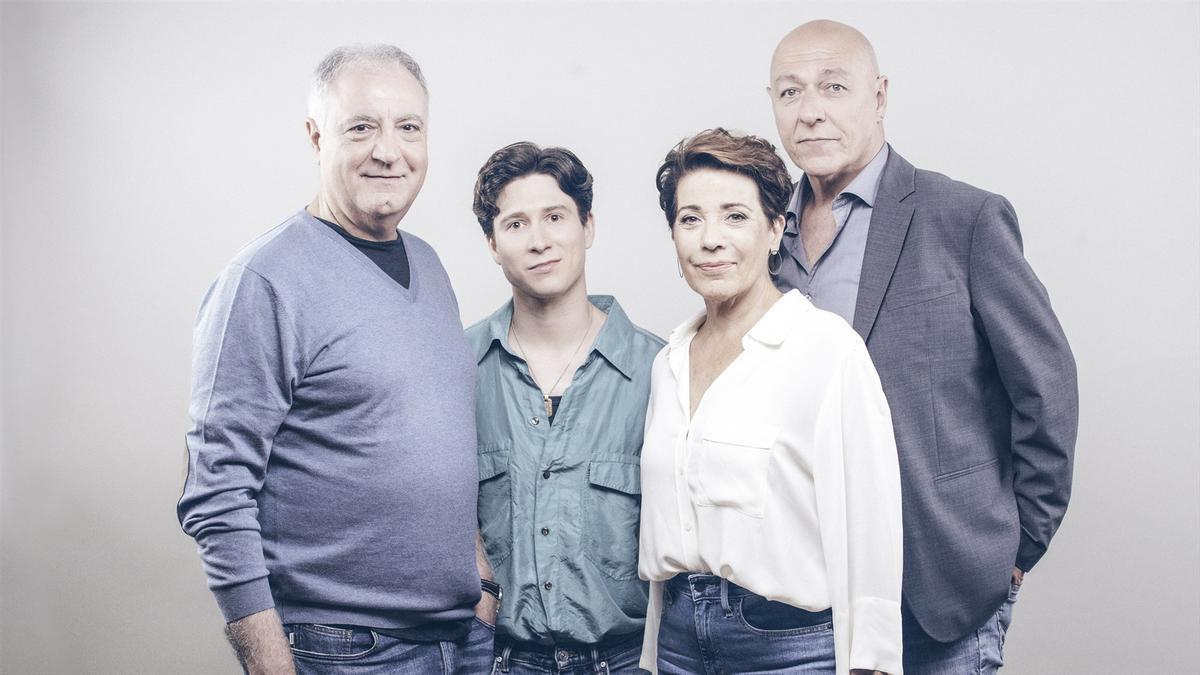 Emma Vilarasau, Jordi Bosch, Jordi Martínez i Roger Vilà