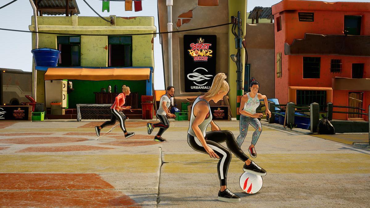 'Street Power Football', fútbol freestyle para los más activos de la casa.